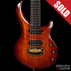 Ernie Ball Music Man Artisan Majesty 7 John Petrucci Signature Marrone