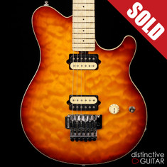 Ernie Ball Music Man Axis Honey Burst Quilt