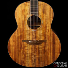 Lowden F-50 NAMM Premium Figured Koa Custom Inlay Package