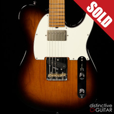Suhr Classic T Antique Roasted Recovered Sinker Maple #3 2 Tone Sunburst