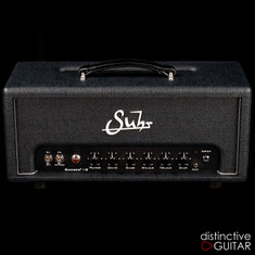 NEW Suhr Badger 18 Watt Amp Head Black / Silver