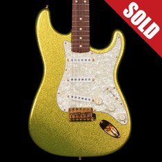 1996 Fender Custom Shop Stratocaster Chartreuse Sparkle *SOLD*