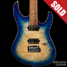 Suhr Modern Custom Angel Quilt Blue Burst JS8A0P