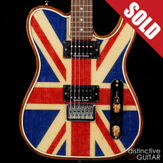 Walla Walla Maverick Pro T-Top Crystal Union Jack