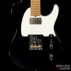 Suhr Classic T Antique Roasted Recovered Sinker Maple #1 Black