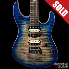 Suhr Custom Modern Handpicked Flame Top Oceanside Burst JS5W6K