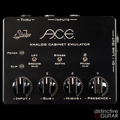 Suhr A.C.E. Analog Cabinet Emulator Black