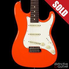 Suhr Classic Scott Henderson Signature Series Fiesta Orange JS6E4Y