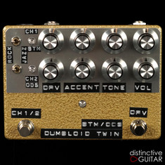 Shin's Music Dumbloid Twin Overdrive / Overdrive Special Gold Hammer
