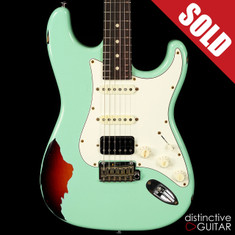 Suhr Classic Antique Surf Green Over 3-Tone Sunburst Limited Edition JS5A6Y