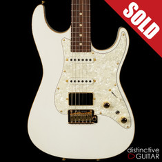 Tom Anderson Drop Top Classic Hollow Arctic White