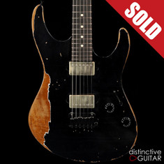 Suhr Modern Antique Custom Extra Heavy Aging Black JS6Q8A