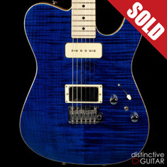 Tom Anderson Top T Cajun Blue Flame