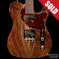 Suhr Classic T Custom Figured Walnut Natural Gloss JS3G9N