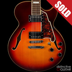 D'Angelico Premier SS Kurt Rosenwinkel Signature Honey Burst
