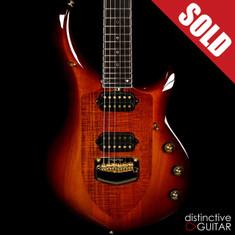 Ernie Ball Music Man Majesty John Petrucci Signature Limited Koa Island Burst BFR