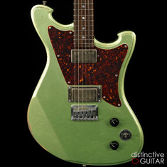 Wild Custom WildMaster Acid Green NAMM Showpiece
