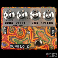 Shin's Music Dumbloid Special Overdrive Pedal Sukimo Leather Orange Marble #1220