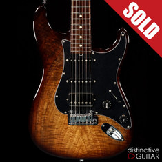 Suhr Classic Custom Figured Walnut Brown Burst JS2Y3G