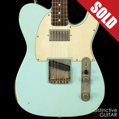 Iconic 67TH Vintage Custom Sonic Blue Relic