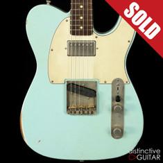 Iconic 67TH Vintage Custom Sonic Blue Relic