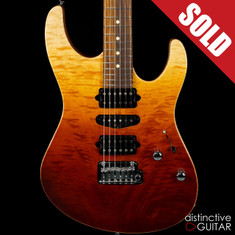 Suhr Modern Custom Handpicked Angel Quilt Maple Desert Gradient JS0N1W