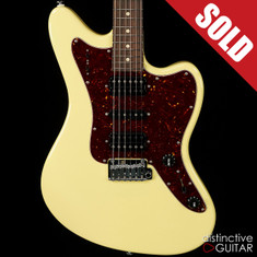 Suhr Classic JM Ian Thornley Signature Series Vintage Yellow JS1Y4M