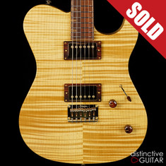 Melancon Custom Artist T Flame Maple / White Limba