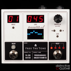 Free The Tone PA-1QG 10 Band Analog EQ w / Power Supply