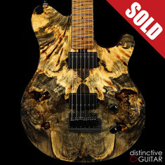 Ernie Ball Music Man Axis Super Sport BFR #43-Buckeye Burl