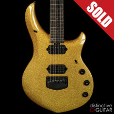 Ernie Ball Music Man Majesty John Petrucci Signature Limited Gold Sparkle BFR #62