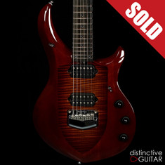 Ernie Ball Music Man Majesty John Petrucci Signature Limited Sahara Burst BFR #26