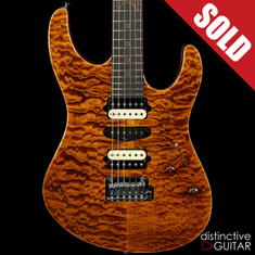 Suhr Modern Custom Distinctive Select #30 Black Gold JS5H3J