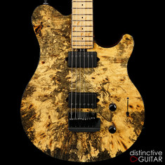Ernie Ball Music Man Axis Super Sport BFR #24-Buckeye Burl