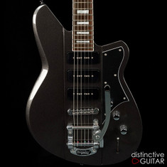 Reverend Warhawk 390 Gunmetal Grey