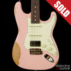 Suhr Classic Antique Custom Shell Pink Heavy Aging JSC2G