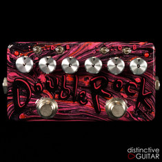 Zvex Double Rock Distortion Custom One Off Hand Painted D107