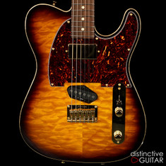 Tom Anderson Top T Classic Tobacco Burst Quilt