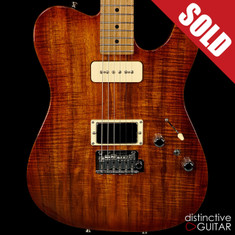 Tom Anderson Top T Honey Shaded Edge - Private Reserve Koa Top