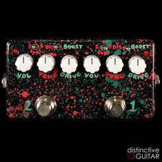 Zvex Double Rock Distortion Custom One Off Hand Painted D132