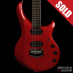 Ernie Ball Music Man Majesty BFR #66 Cinnabar Red