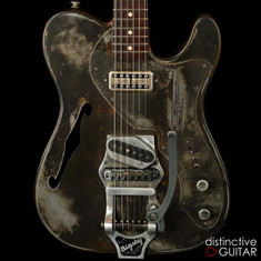 James Trussart Deluxe SteelCaster Rust O Matic #11214