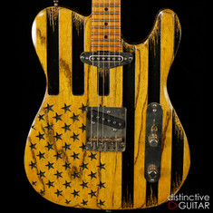 Palir Titan Butterscotch Flag  - Porter Pickups