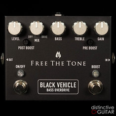 Free The Tone BV-1V Black Vehicle Bass Overdrive