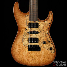 Suhr Standard Custom Compression Waterfall Burl JS0X4X