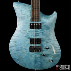 Relish Flame Jane Blue Flame w / Piezo / Swappable Pickups