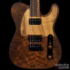 Suhr Classic T Custom Distinctive Select #41 Figured Walnut / Koa