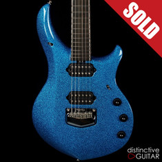 Ernie Ball Music Man Majesty BFR #16 Marine Blue Sparkle