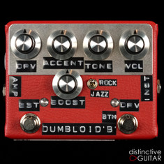 Shin's Music Dumbloid BTM Boost Red Tolex
