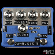 Shin's Music Dumbloid 335 Boost Blue Tolex